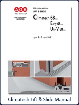 AGB Climatech Lift & Slide Patio Manual