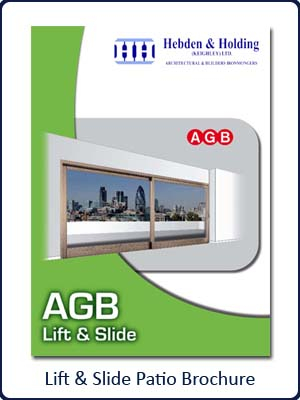 AGB Lift & Slide Patio Brochure