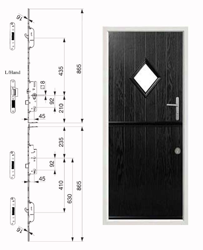 Stable Door Lock Design