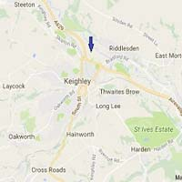 Keighley Map