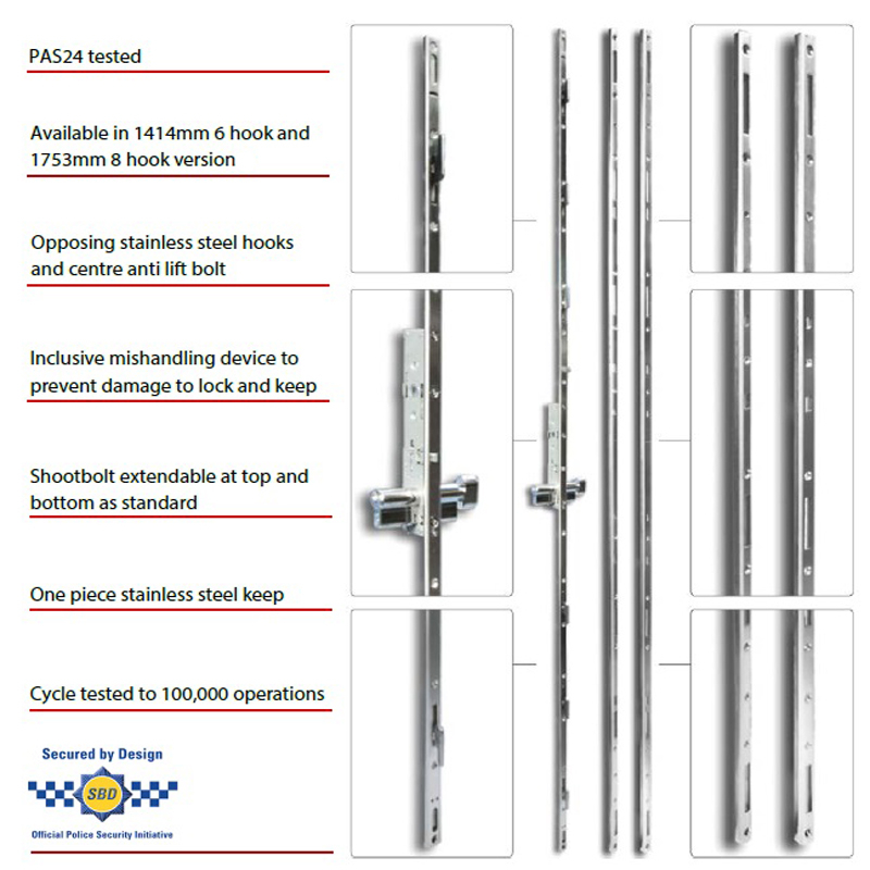 Multipoint Patio Door Lock