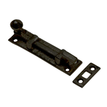 Black Antique Necked Bolts