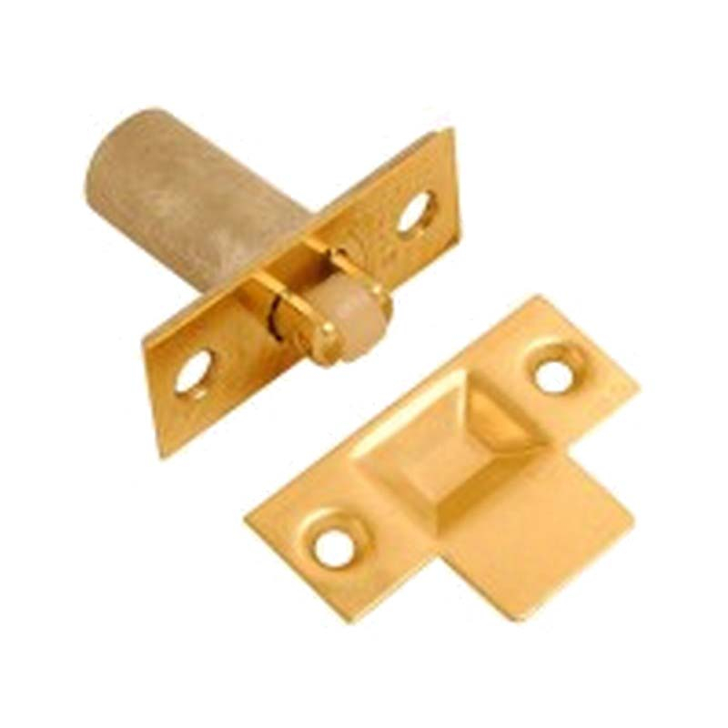Adjustable Roller Catch Electro Brass
