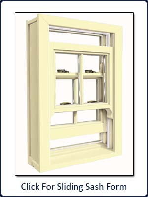 Sliding Sash Form